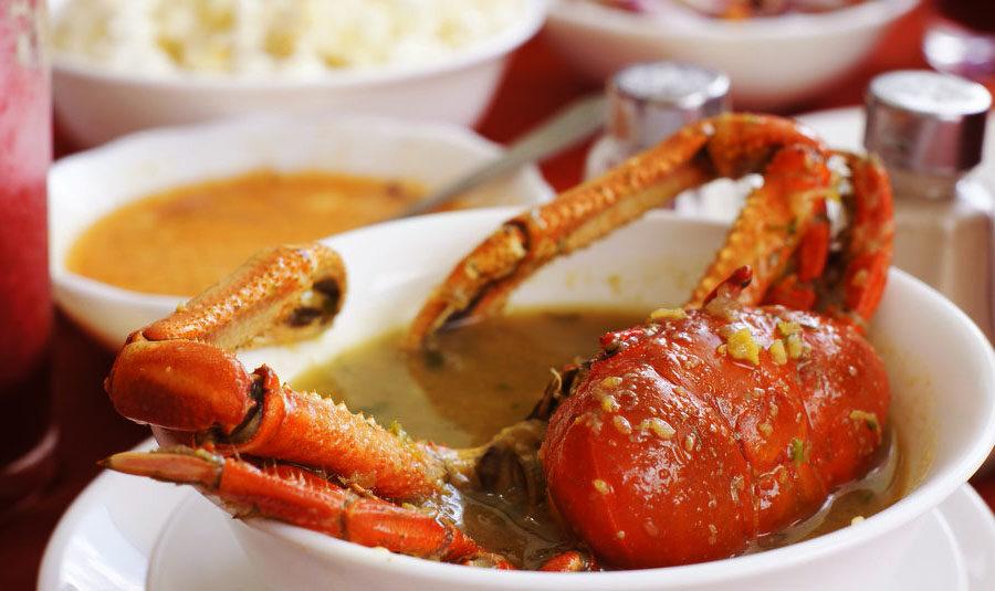 receta sopa de cangrejo