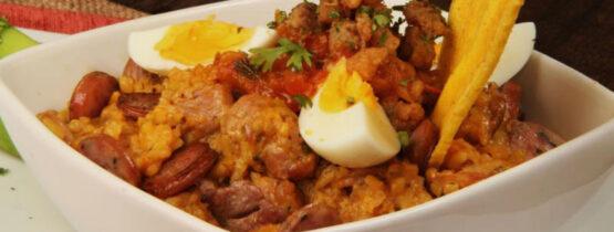 receta de arroz atollado