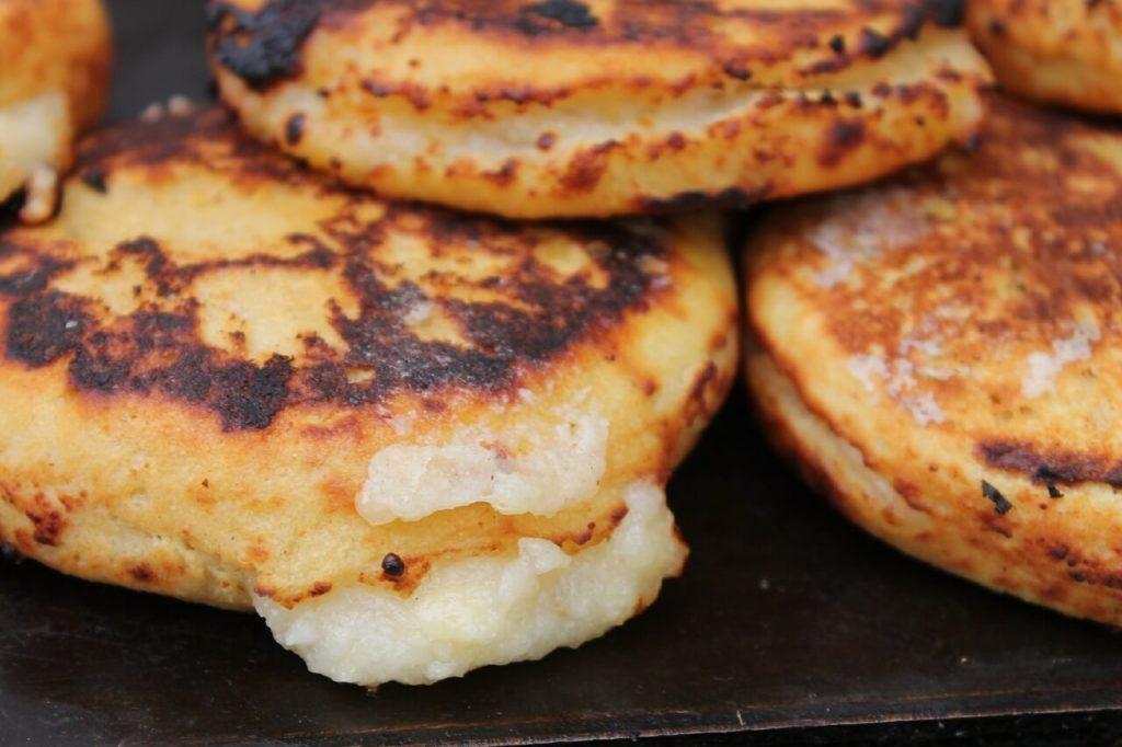 arepa cocina Colombiana