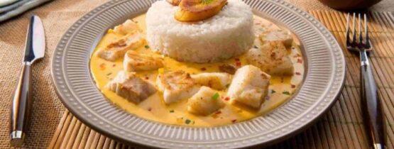 receta de la encocada de pescado colombiana